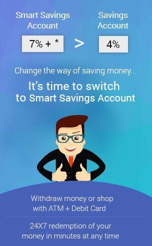Smart saving account