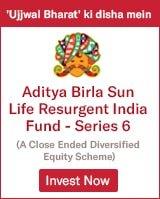 Aditya Birla Sun Life Resurgent India Fund Series 6